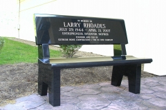 Rhoades-Bench-Front