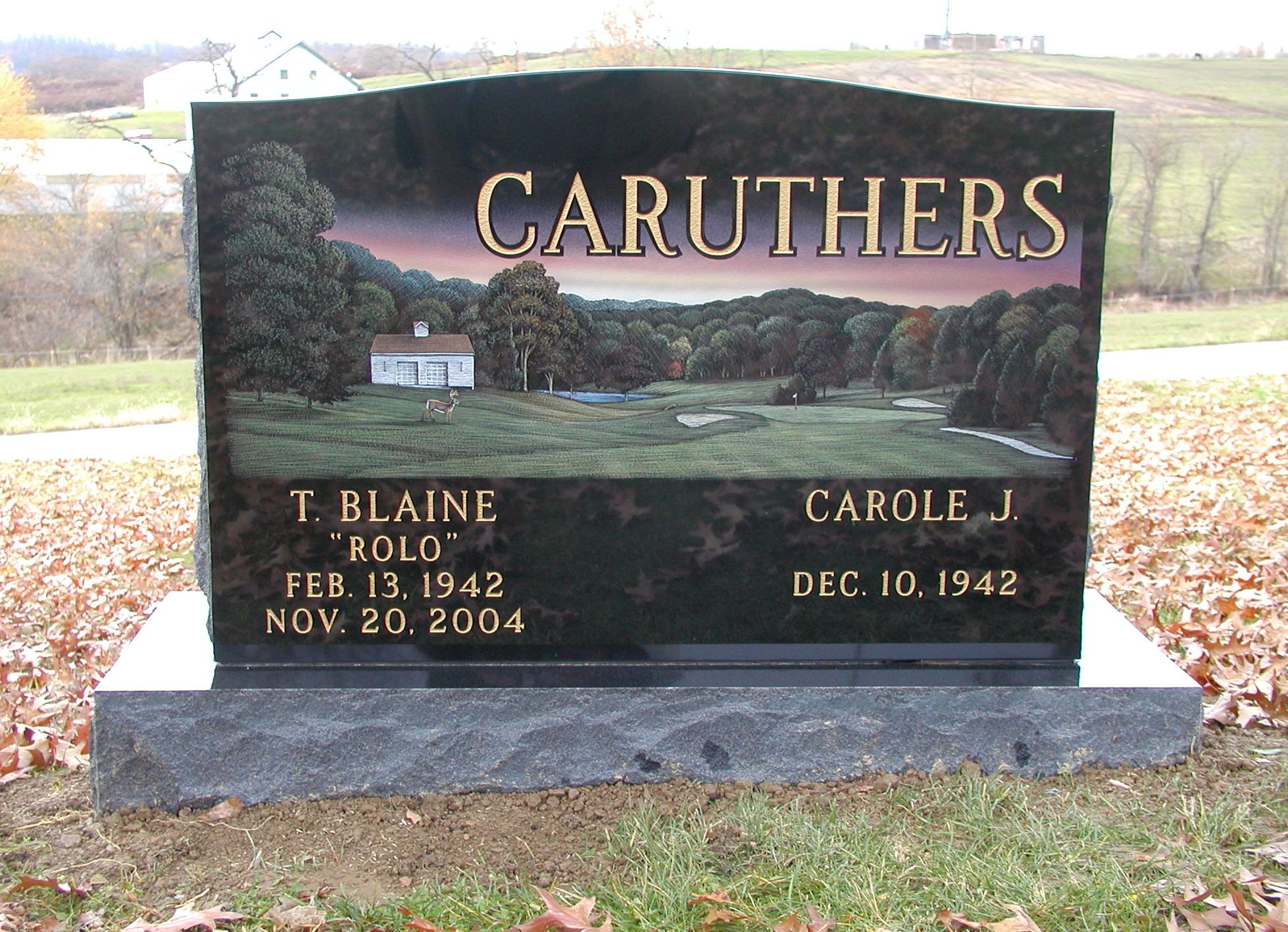 Caruthers-Blaine