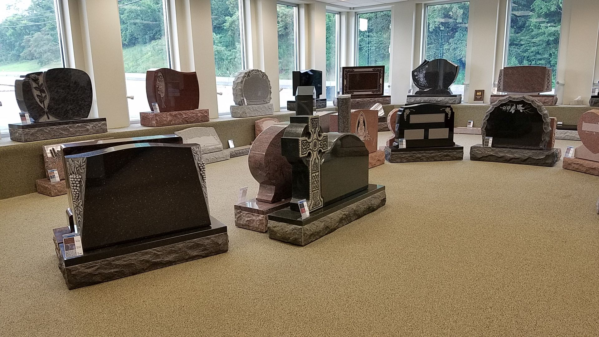 Selecting from Our Showroom | Rudez Granite